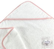 Babies Only Super-Soft Baby Hooded Towel Pink